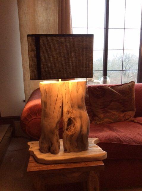 Driftwood Short Lamp