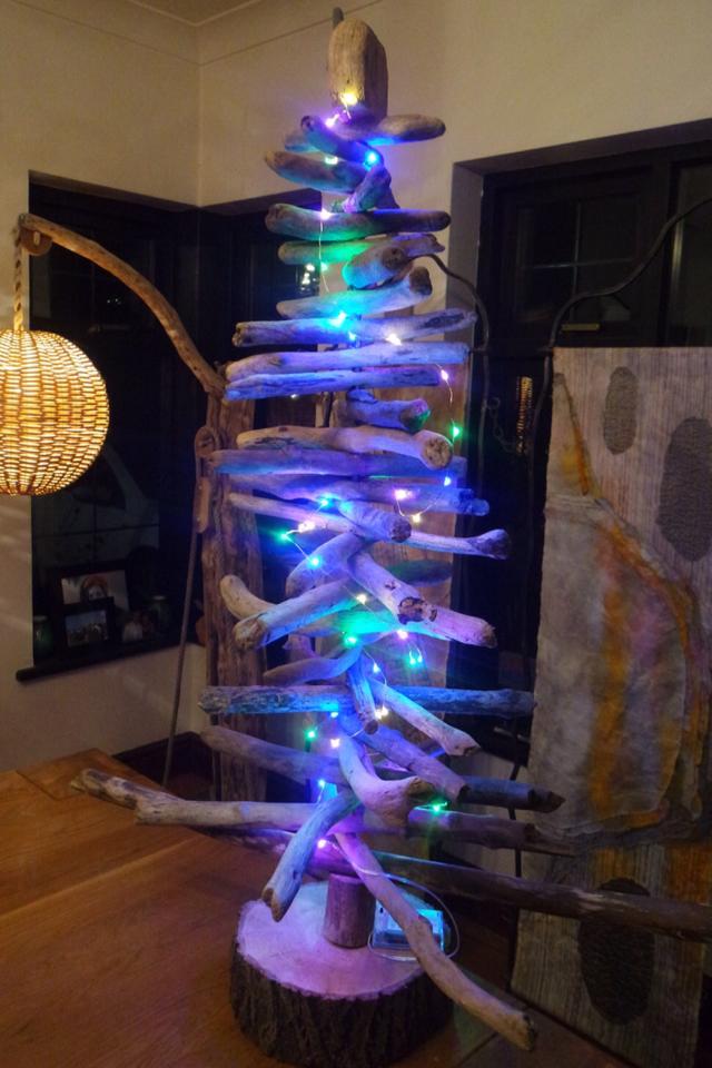 Driftwood Christmas Tree 4