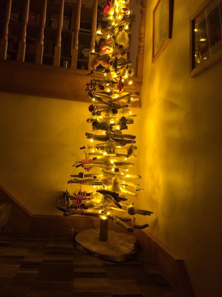 Driftwood Christmas Tree 5