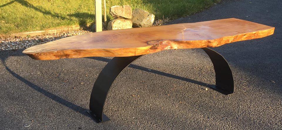 Driftwood bench 2