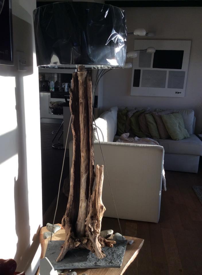 Driftwood floor lamp 12