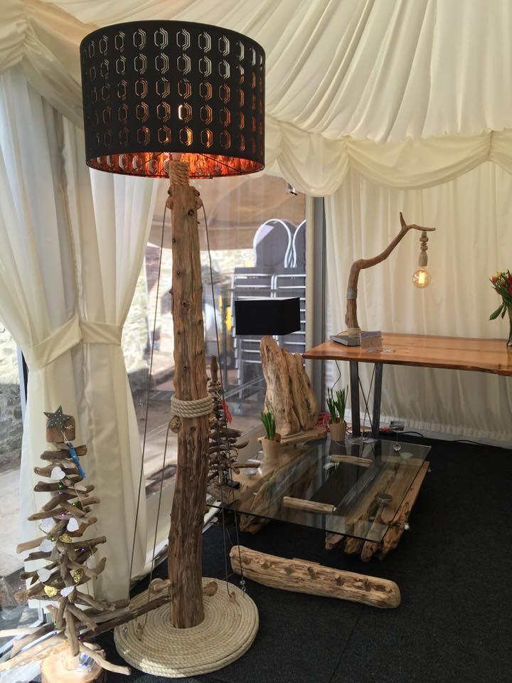 Driftwood floor lamp 5