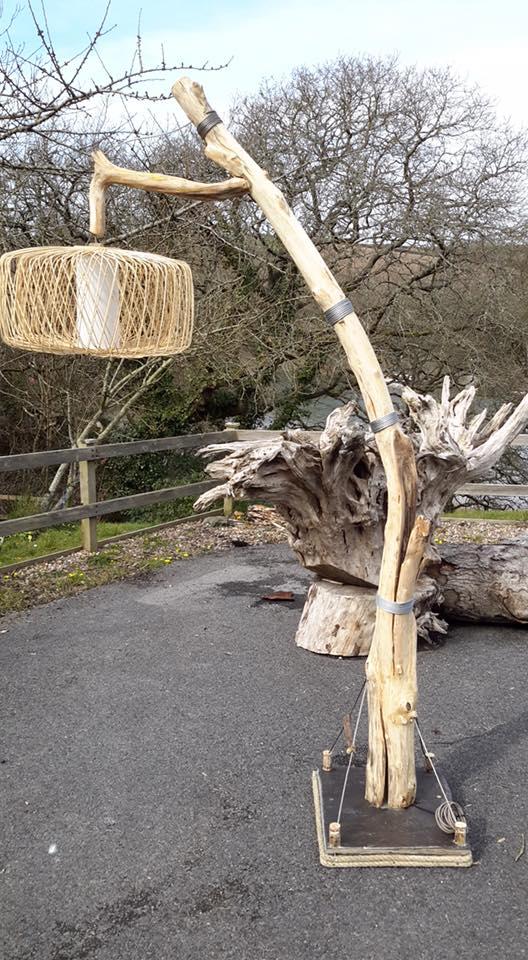 Driftwood floor lamp 6