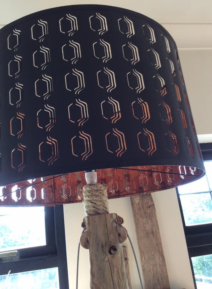 Driftwood floor lamp 9